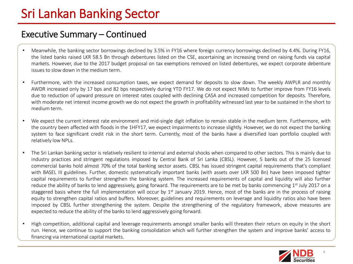sri lankan banks gaining a competitive Skills for growth and competitiveness in sri lanka july 10, 2014 email print tweet share share luxshmanan nadaraja / world bank.