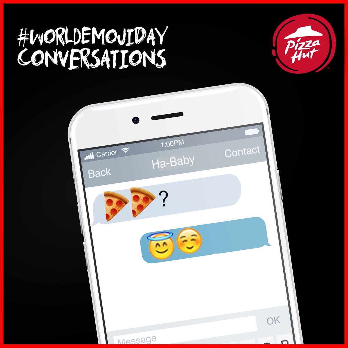 Pizza always gets all the happy emojis, there is never a sad one WorldEmojiDay https t.co YAzDUF1MqX
