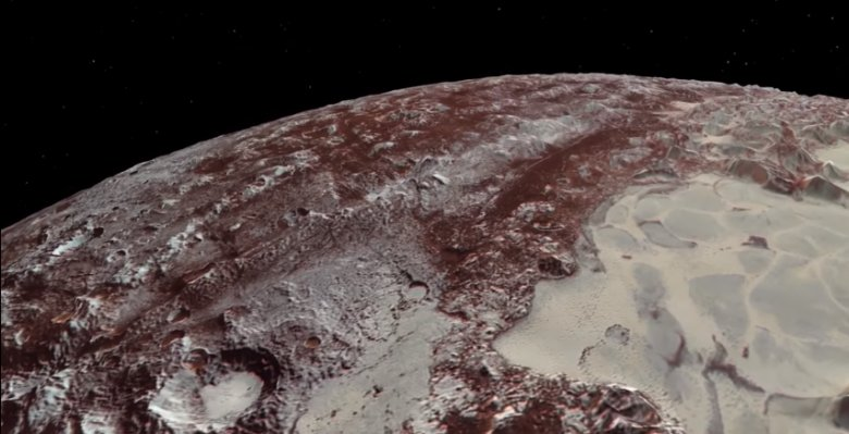 La NASA nous offre un fabuleux voyage en vidéo au-dessus de Pluton https://t.co/xOWQJqjNQf