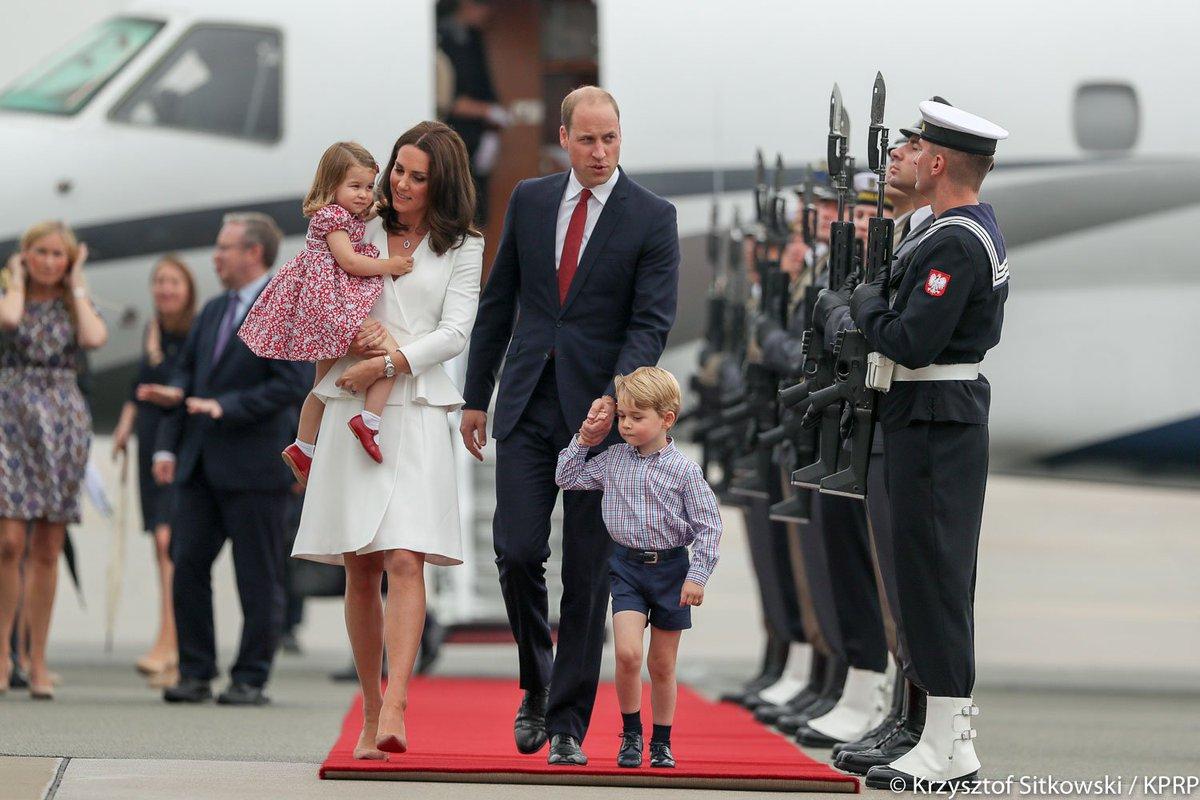 Wizyta Księcia i Księżnej Cambridge Pols...