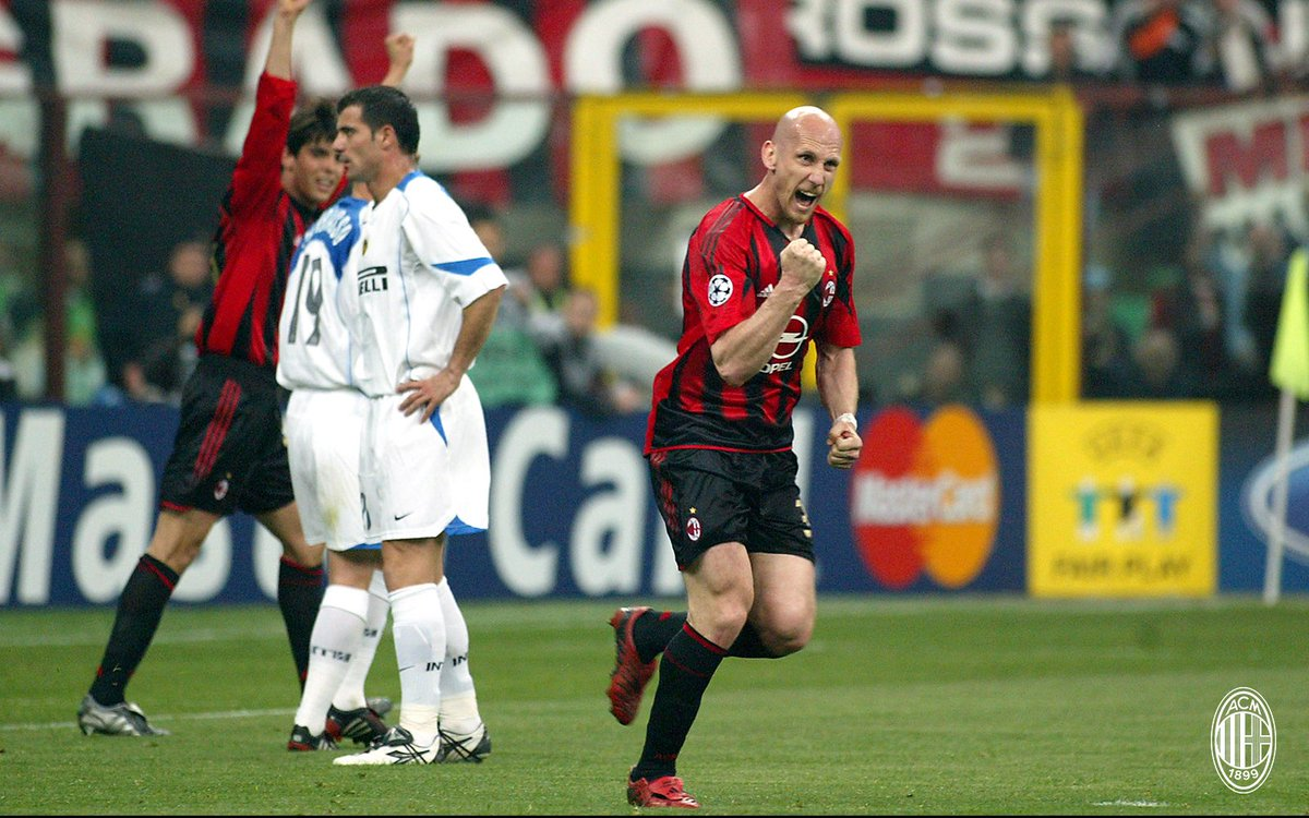 Happy birthday to Jaap #Stam who turns 45 today! 🎂🔴⚫️ Buon compleanno! 🎉 #weareacmilan