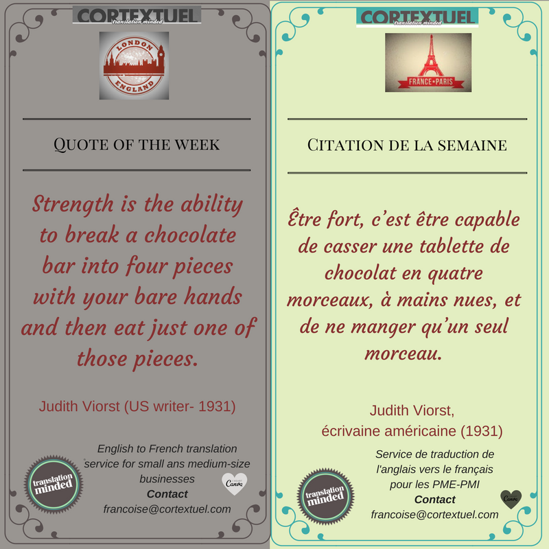 #Quote of the week #Citation de la semaine by #CORTEXTUEL #Cooking and #Gastronomy<br>http://pic.twitter.com/NCjPfmwYyi
