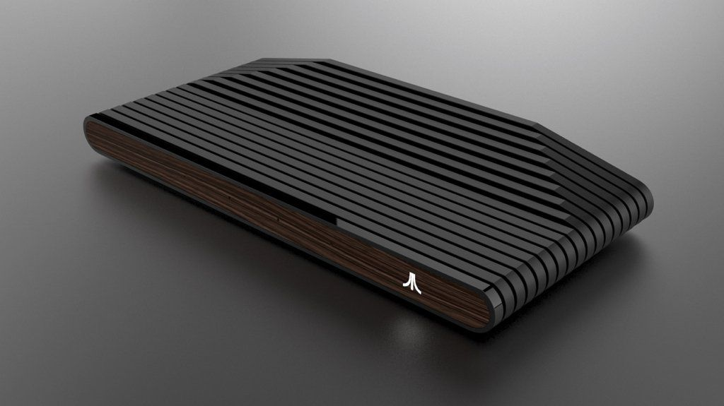 This is Atari's new Ataribox retro console (with wood!). It's like Nintendo's NES Classic https://t.co/Nmj3VcCPZN