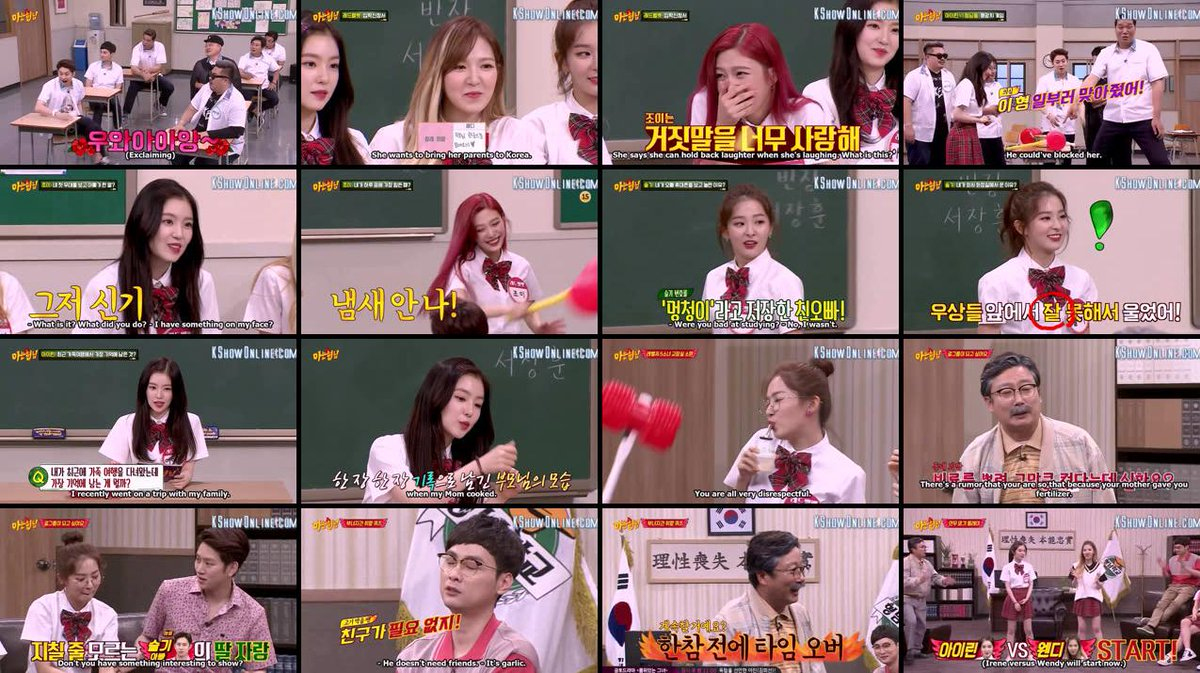 Knowing Brother Red Velvet Sub Indonesia Gastronomia Y Viajes