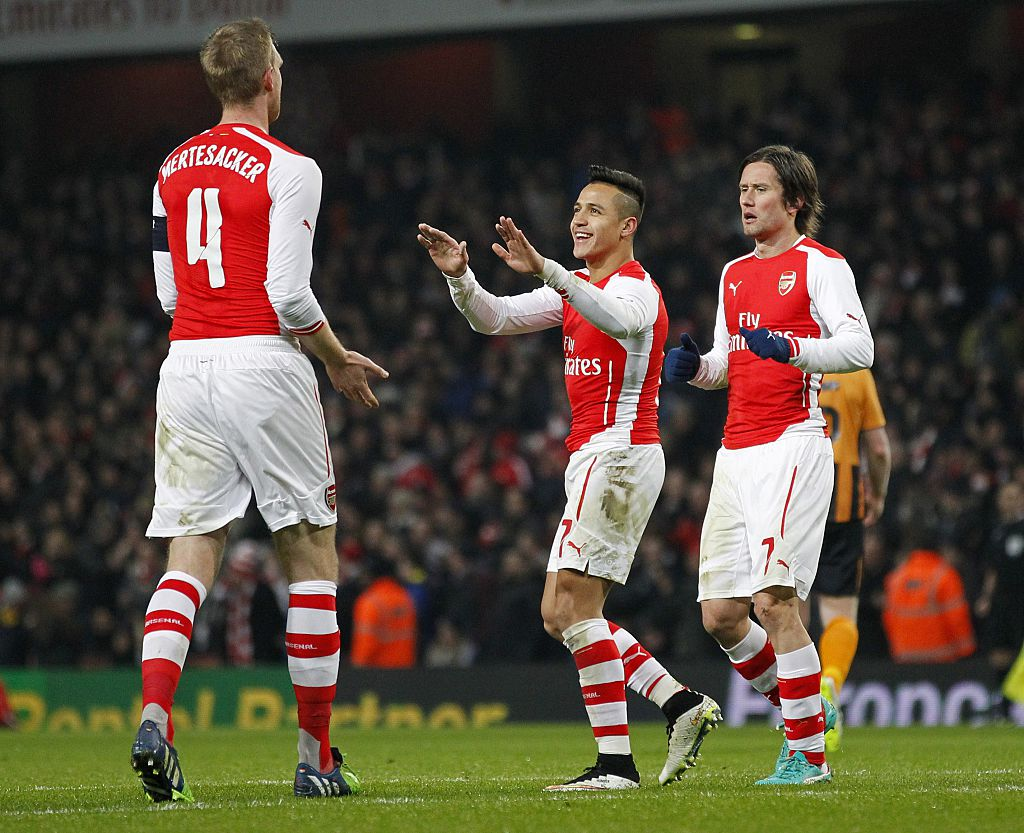 Per Mertesacker on Alexis Sanchez: 'I have not spoken to him. He needs a break now. He needs to relax. He has done a lot for us [Arsenal].'