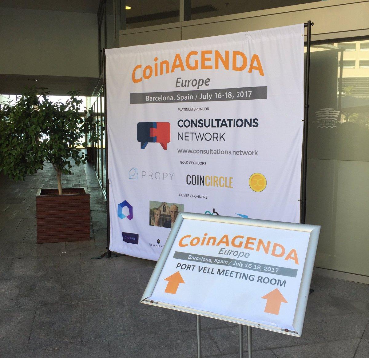 Talk to us at @CoinAgenda #Barcelona. <br>http://pic.twitter.com/IiOdUQeoks