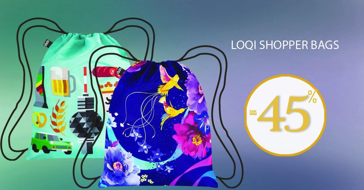 Ξεχωριστές τσάντες σε διάφορα σχέδια και χρώματα από τη συλλογή Loqi Shopper Bags! SHOP NOW --> https://t.co/GPxq3DNNwL https://t.co/GKEpCwPKGS