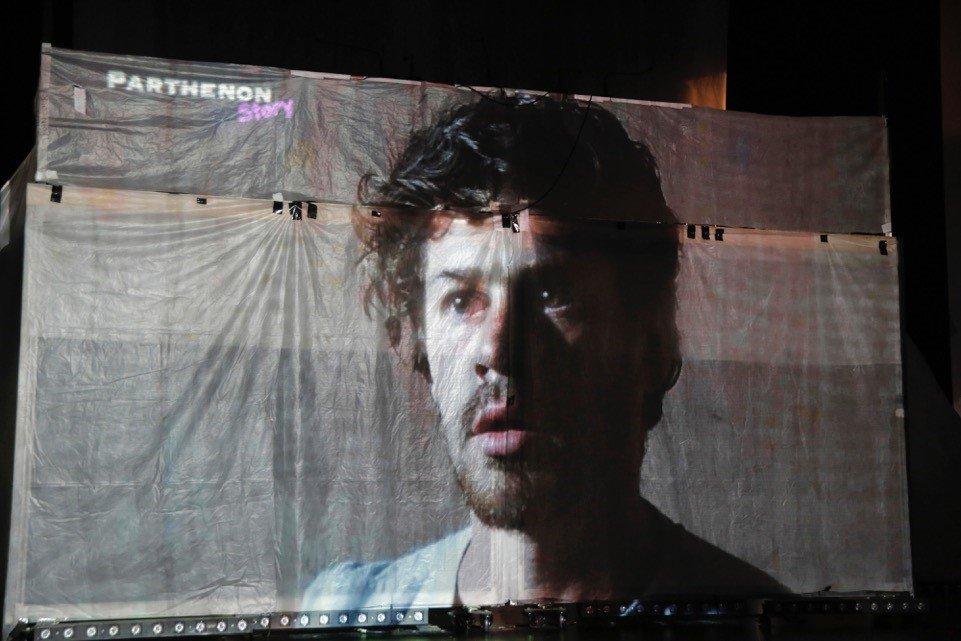 """#Théâtre """"Dans les ruines d'Athènes"""" du Birgit Ensemble  @FestivalAvignon est en replay @Culturebox avec @France2tv ➡https://t.co/zZR9DYmboF"""
