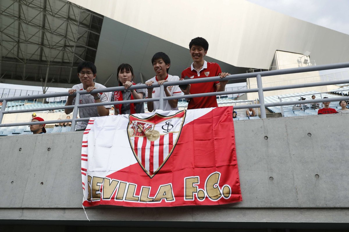 Sevilla Fc On Twitter Thanks To All The Fans For The Warm Welcome