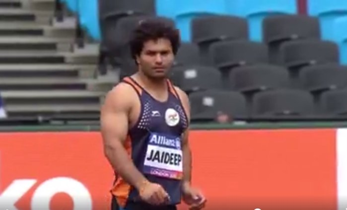 Indian discus thrower Jaideep Deswal has high hopes for the Tokyo Paralympics