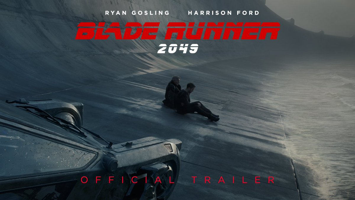 The past will always find you. Watch the NEW #BladeRunner2049 trailer now.