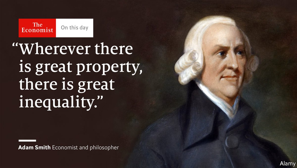 Adam Smith died #OnThisDay 1790. How people have misinterpreted his ideas https://t.co/6iBTRti94A