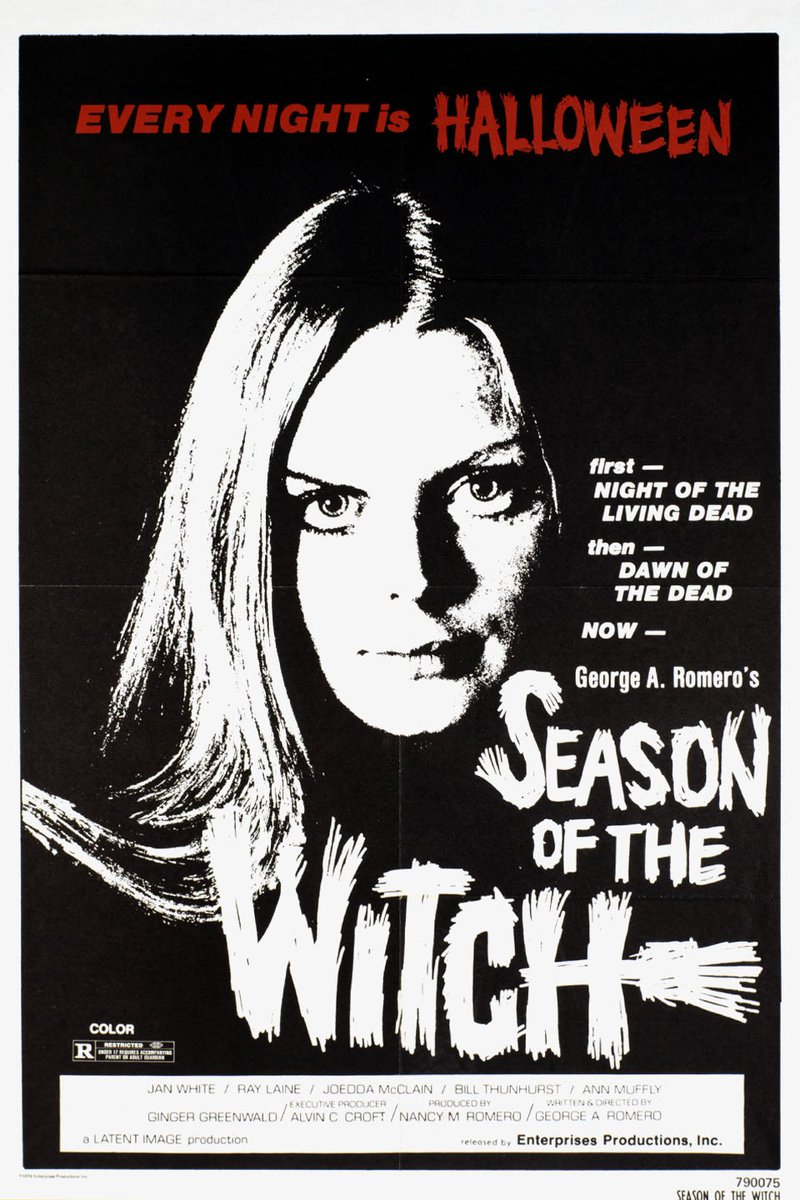 "シゲボー on Twitter: ""George A. Romero/ SEASON OF THE WITCH (1973) #horror # witchcraft #trailer #MoviePoster … https://t.co/qAjuGALIyD… """