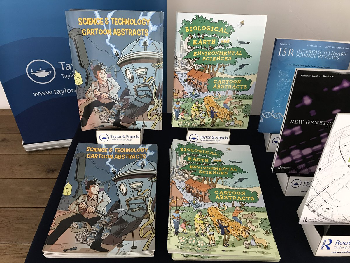 If you&#39;re at #OGHB2017 why not pick up a #cartoonabstract comic from the T&amp;F stand? Free, fun, innovative #scicomm #comic<br>http://pic.twitter.com/fpgUw62e6s