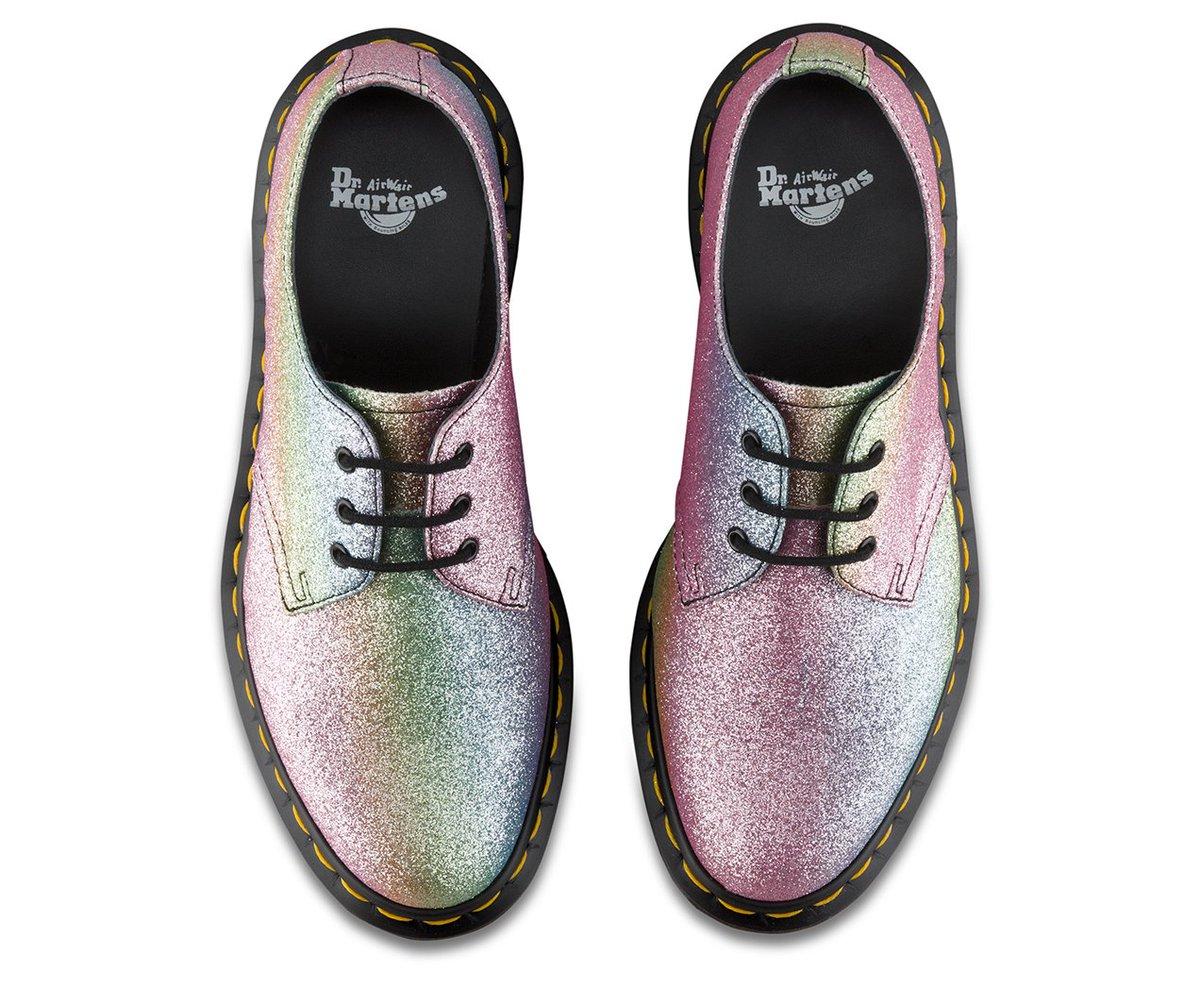 Dr Martens 1461 Rainbow Glitter Womens
