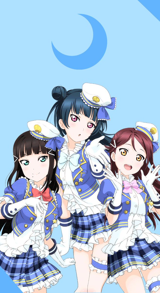 Love Live Edits On Twitter Aqours Cool Trio Wallpapers