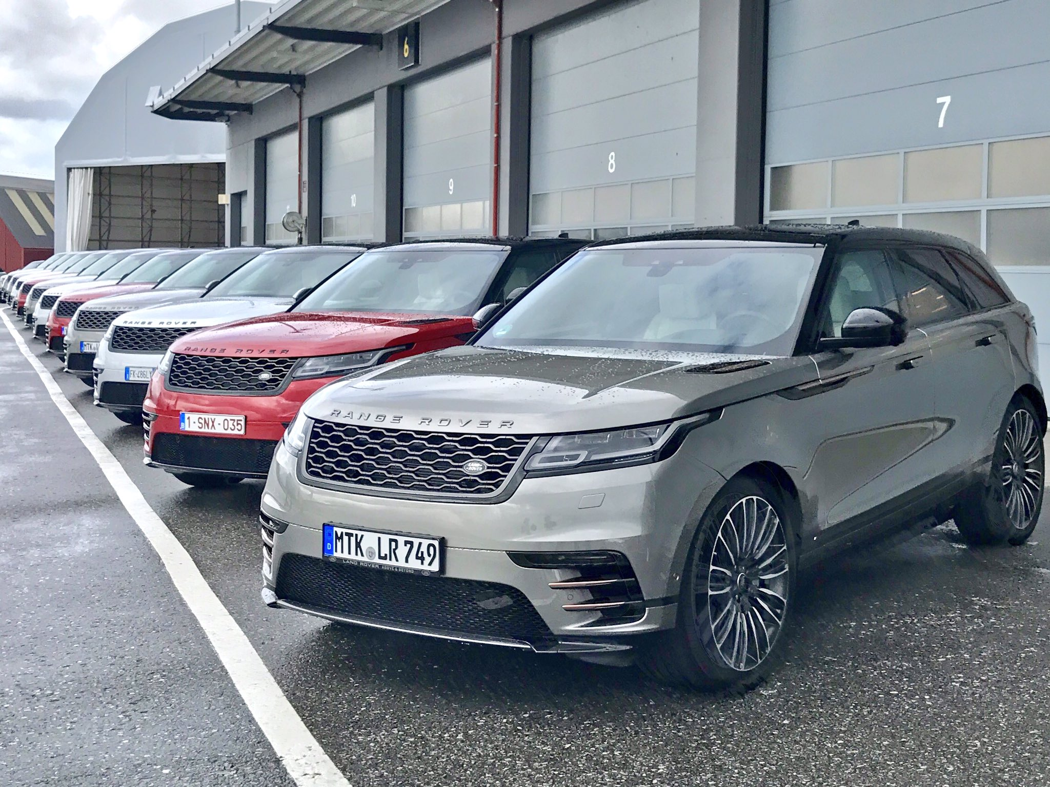 Today is a Velar sort of day https://t.co/AoBMSOEtnu