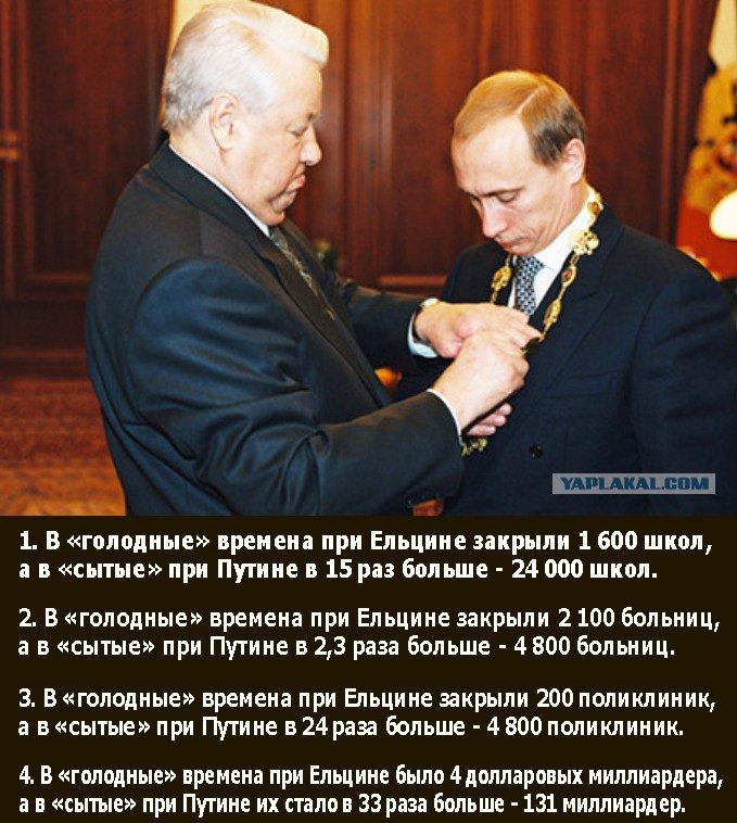 Путин про Ельцина, про Чечню и Касьянова - YouTube