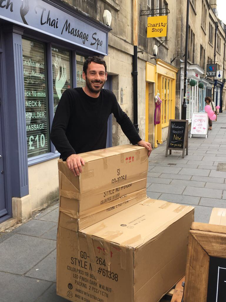 The dress agency widcombe bath - New Smart Chairs Arriving Last Friday At Ringobells With New Owner Chef Dave Https T Co Vtjcgekocl