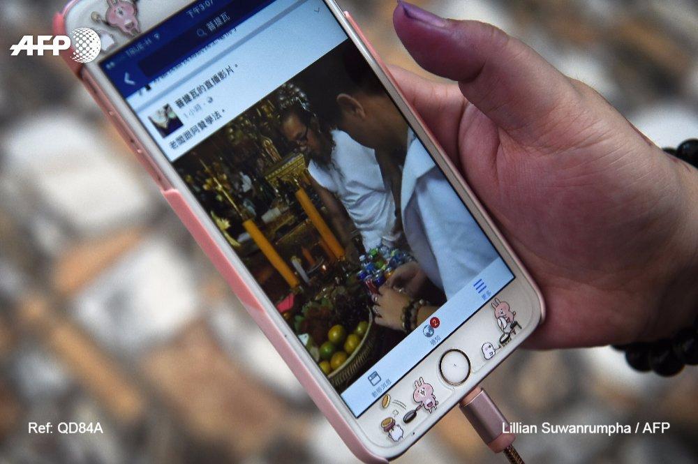 Loin des bois, les nouveaux ermites thaïlandais adeptes d'internet https://t.co/BdHWf63iLY par @ssmairs #AFP