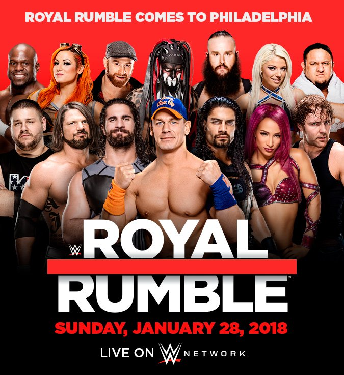 (MATCHCARD) WWE Royal Rumble 2018: LIVE in Pennsylvania, PH (01/28/2018) DE8-MROUIAARdAL