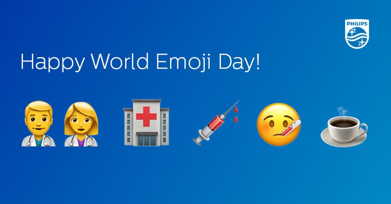 RT @Philips: It's #WorldEmojiDay! What is your most-used healthcare emoji? Share your favorite below. https://t.co/soUnUT9OQO