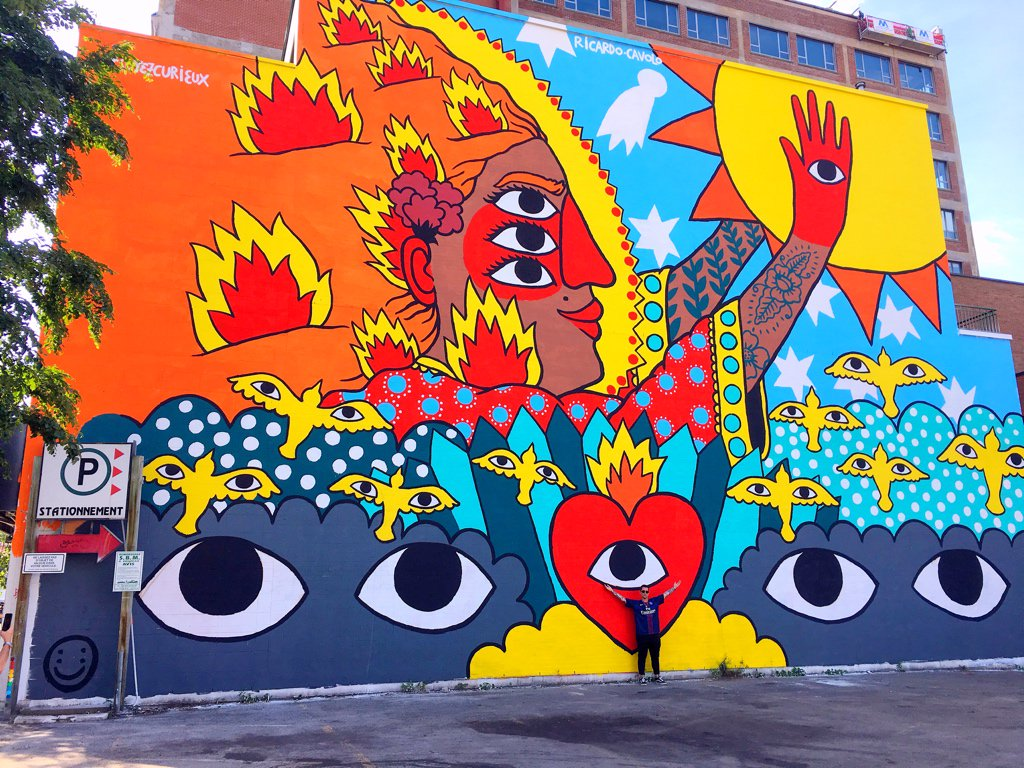 Mural muralfestival twitter for Mural art images