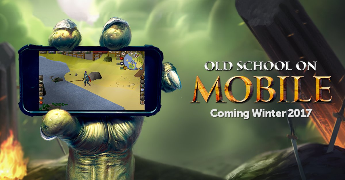 Old School Runescape On Twitter Your Game Anywhere Announcing