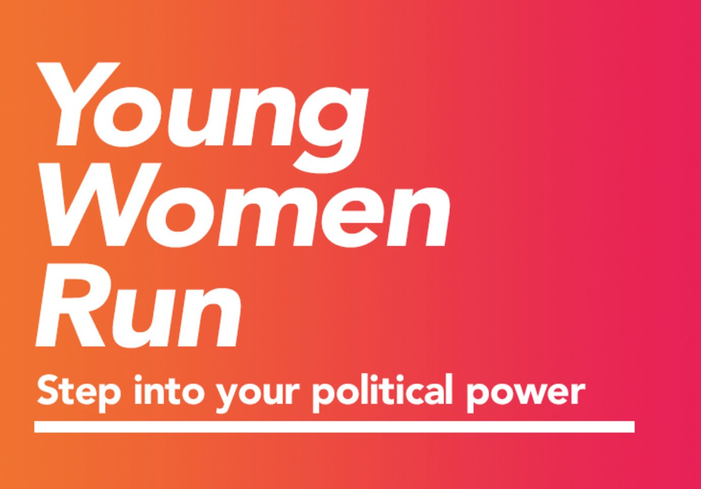 Thumbnail for #YoungWomenRun the World [Full Stop]