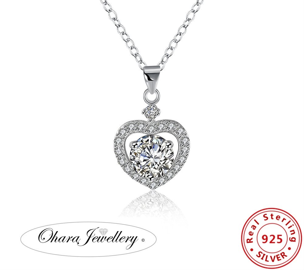 http:// goo.gl/6FUFQD  &nbsp;   Fancy yourself a Beautiful Solid silver cubic zirconia necklace? free delivery! £14.99. #sparkle #sparkly #silver <br>http://pic.twitter.com/yMpKEZexCK