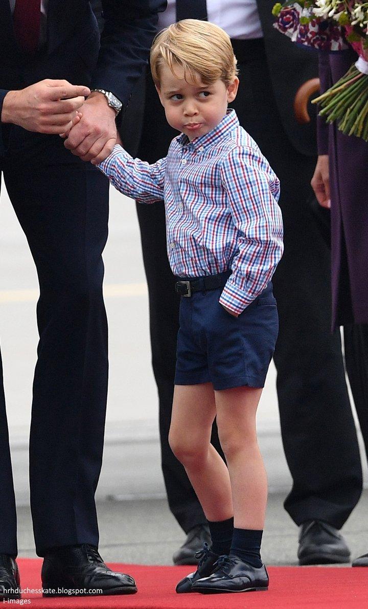 Prince George's face 😂❤❤ #RoyalTourPolan...