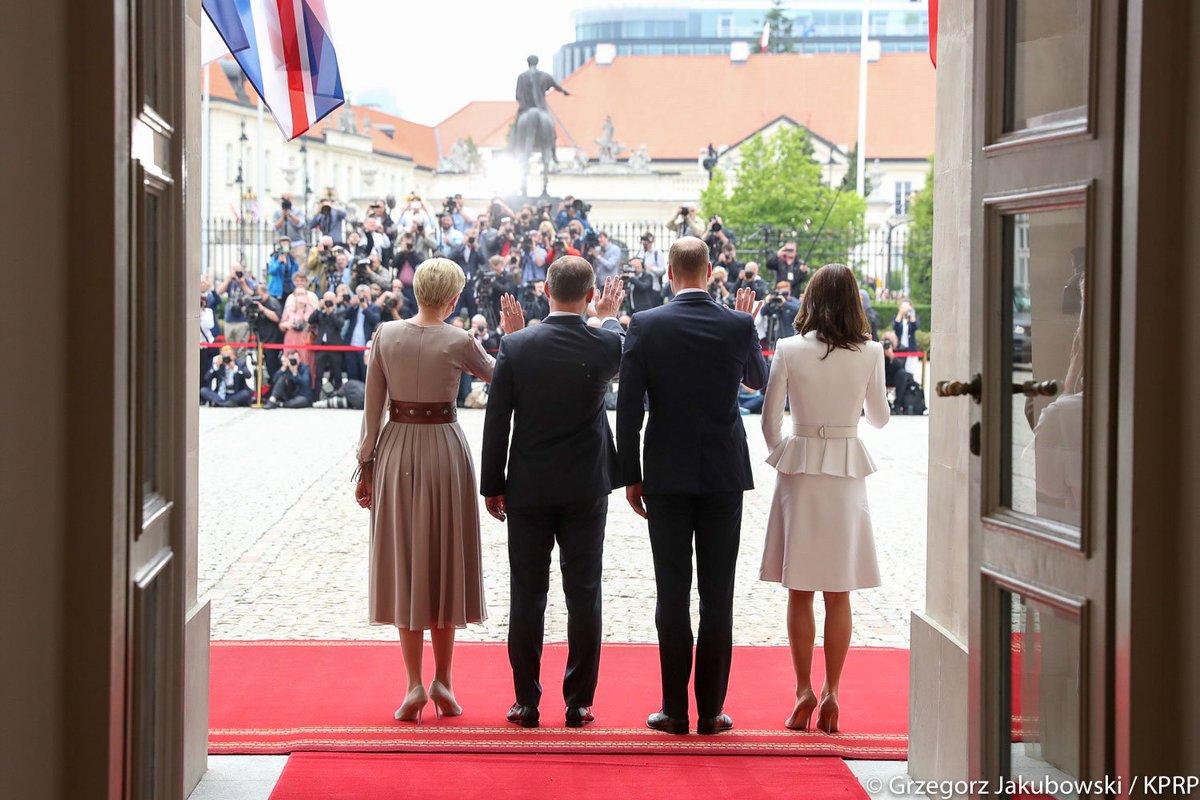 Wizyta Księcia Williama i Księżnej Kate...