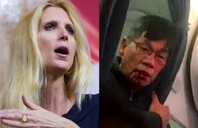 When David Dao Was Dragged Off a United Flight, Ann Coulter Called For His Deportation (Column by @LevineJonathan) https://t.co/NJ9ZuUQCgr