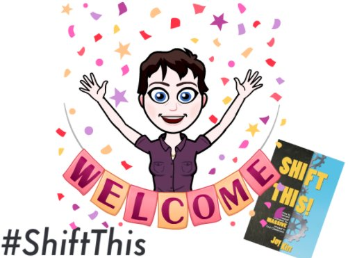 Welcome to tonight's #ShiftThis last book study chat! Please introduce yourself & be ready to learn from each other! https://t.co/2LLvLIXhuX