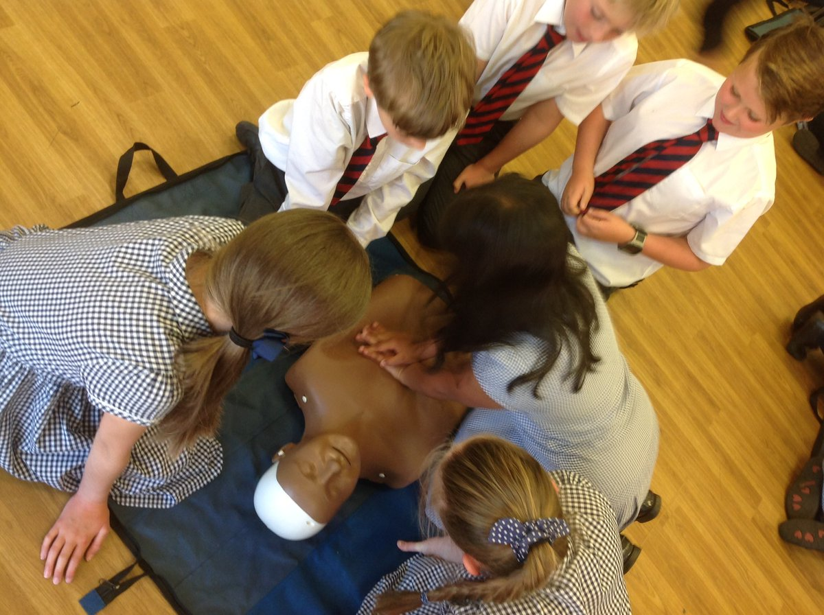 test Twitter Media - Practicing CPR using DRSABC https://t.co/ESZiPz0irW