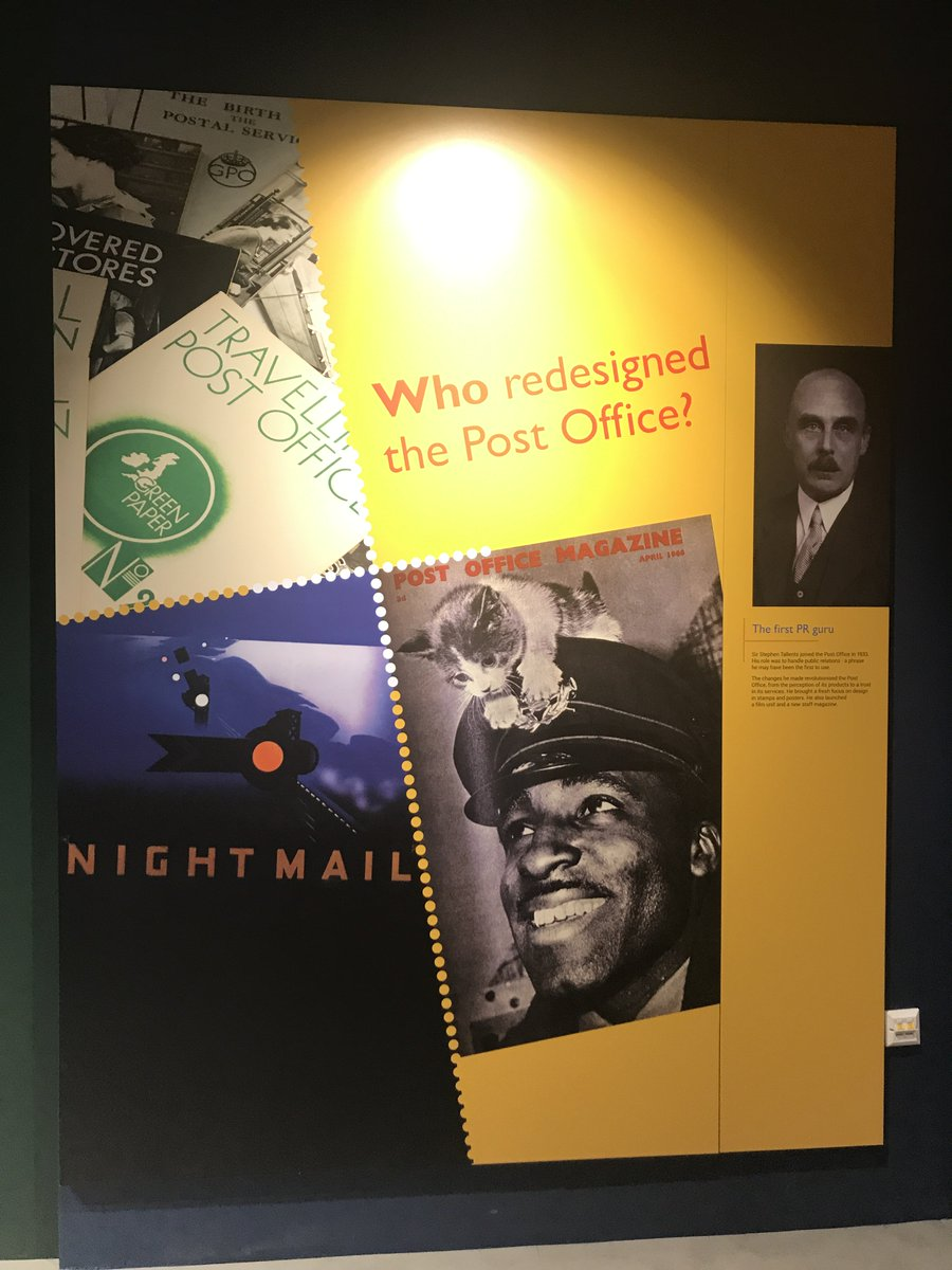 #MewseumMonday spotted during our #SneakPeek @thepostalmuseum make sure you visit, it opens 28th July!