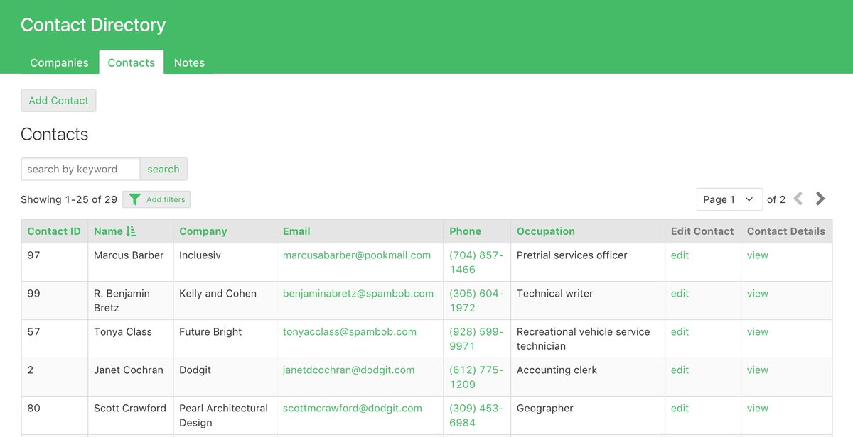 Contact Directory Template from pbs.twimg.com