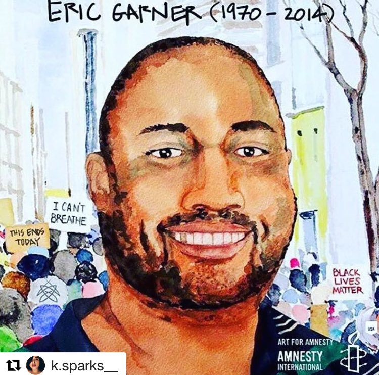 Three years ago on THIS day #EricGarner took his last breath.  R.I.P 🙏🏾 #ICantBreathe