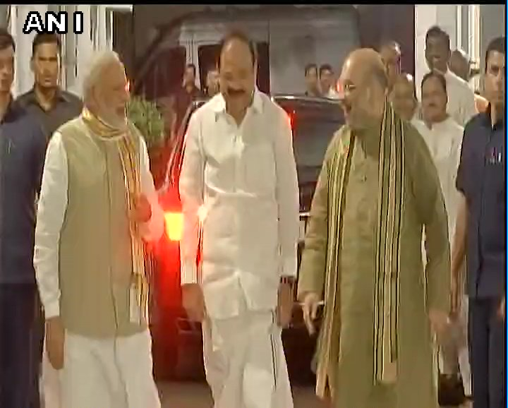 A farmer's son, Venkaiah Naidu Garu brings years of experience in public life and is admired across the political spectrum: PM Modi