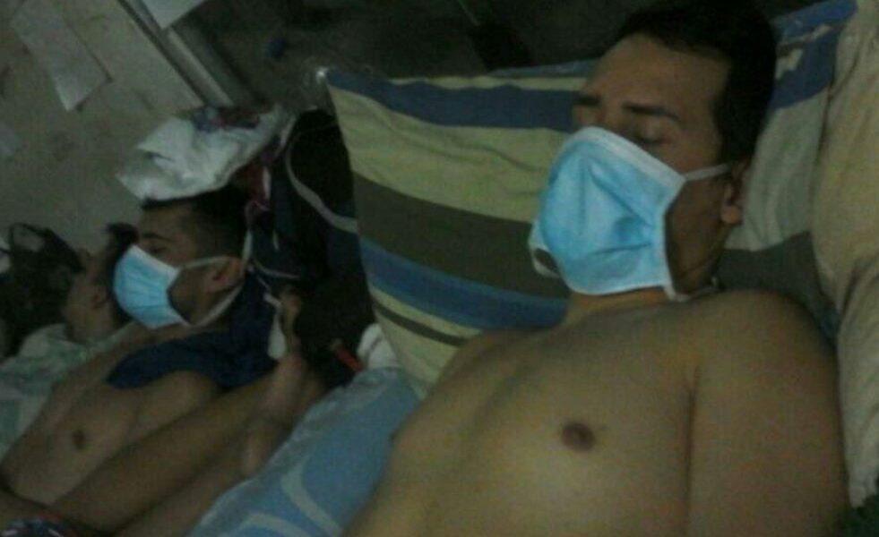 #17Jul Cinco polichacao se cosieron la boca tras 22 días de huelga