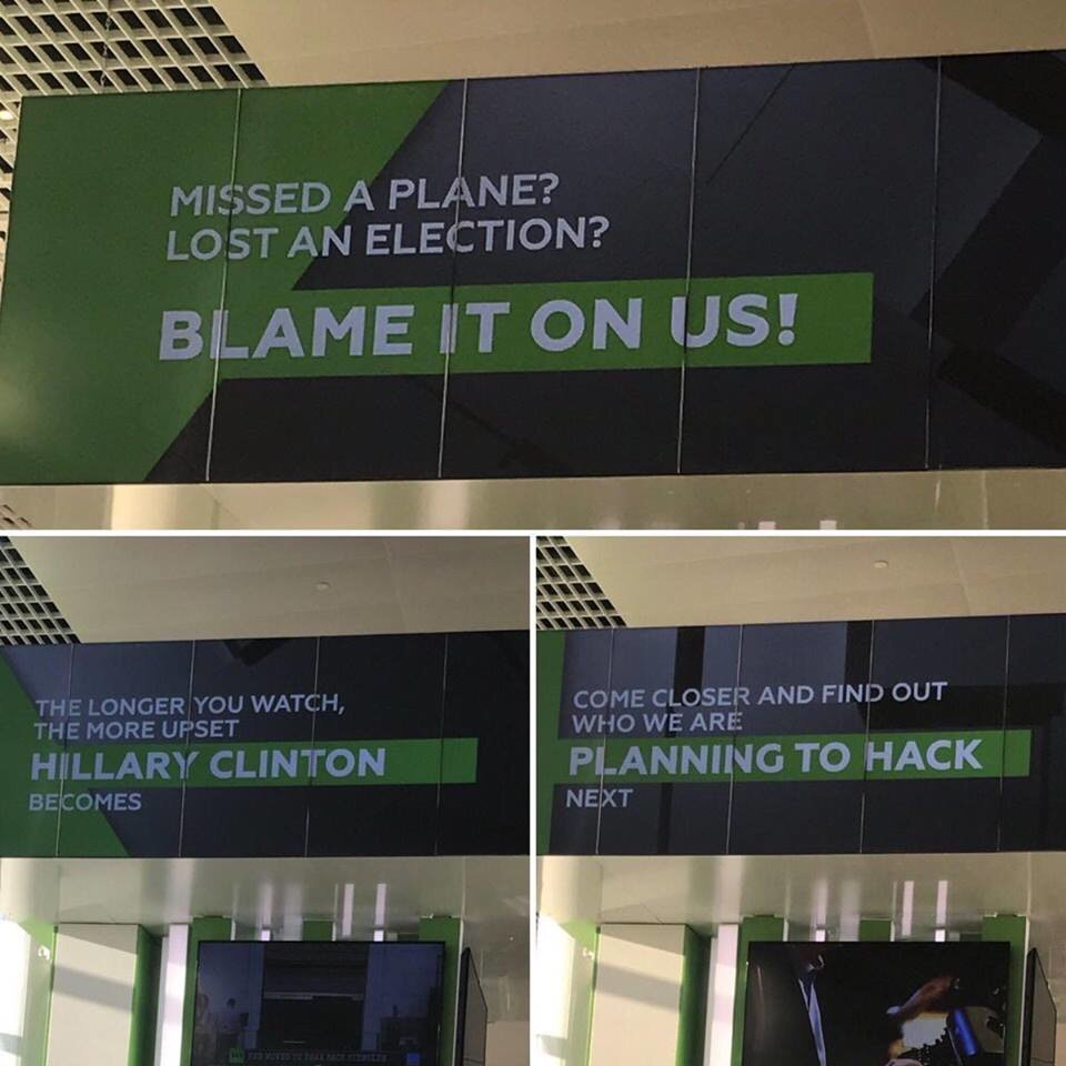 Remember when USA used to have the best humor? Moscow airport https://t.co/SJiUImq3JS