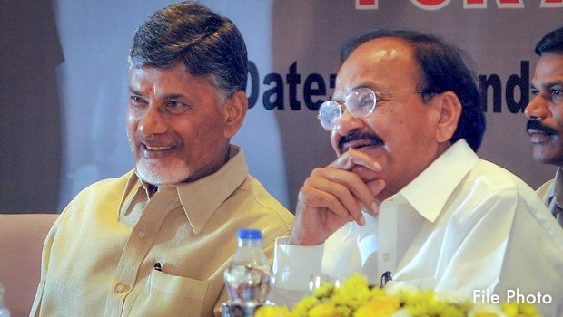 Congratulated the well deserving @MVenkaiahNaidu Garu, on being nominated as NDA's Vice Presidential candidate over a warm telephonic call.