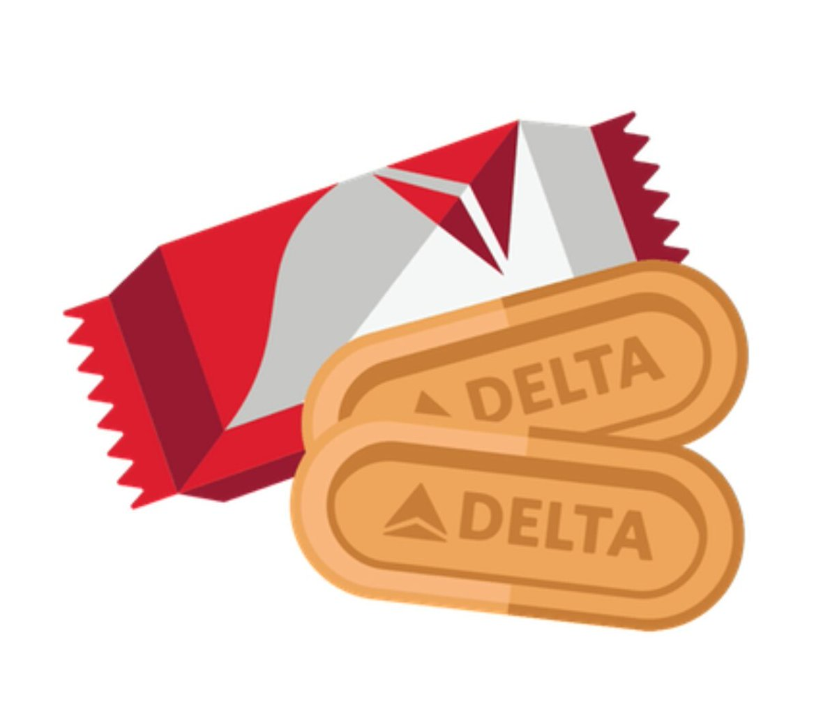 RT @lotusbiscoff: Absolutely in love with our very own #Biscoff emoji for #WorldEmojiDay ❤ @Delta https://t.co/Wpvbz8Hqu9