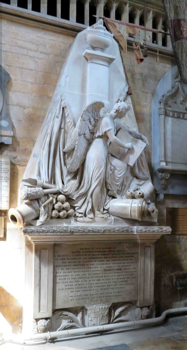 Impressed by the monument to Barnard Foord Bowes in #Beverley Minster  who died at #Salamanca in 1812  http://www. napoleon-series.org/research/biogr aphies/BritishGenerals/c_Britishgenerals30.html &nbsp; … <br>http://pic.twitter.com/Gy1yuNF3Gt