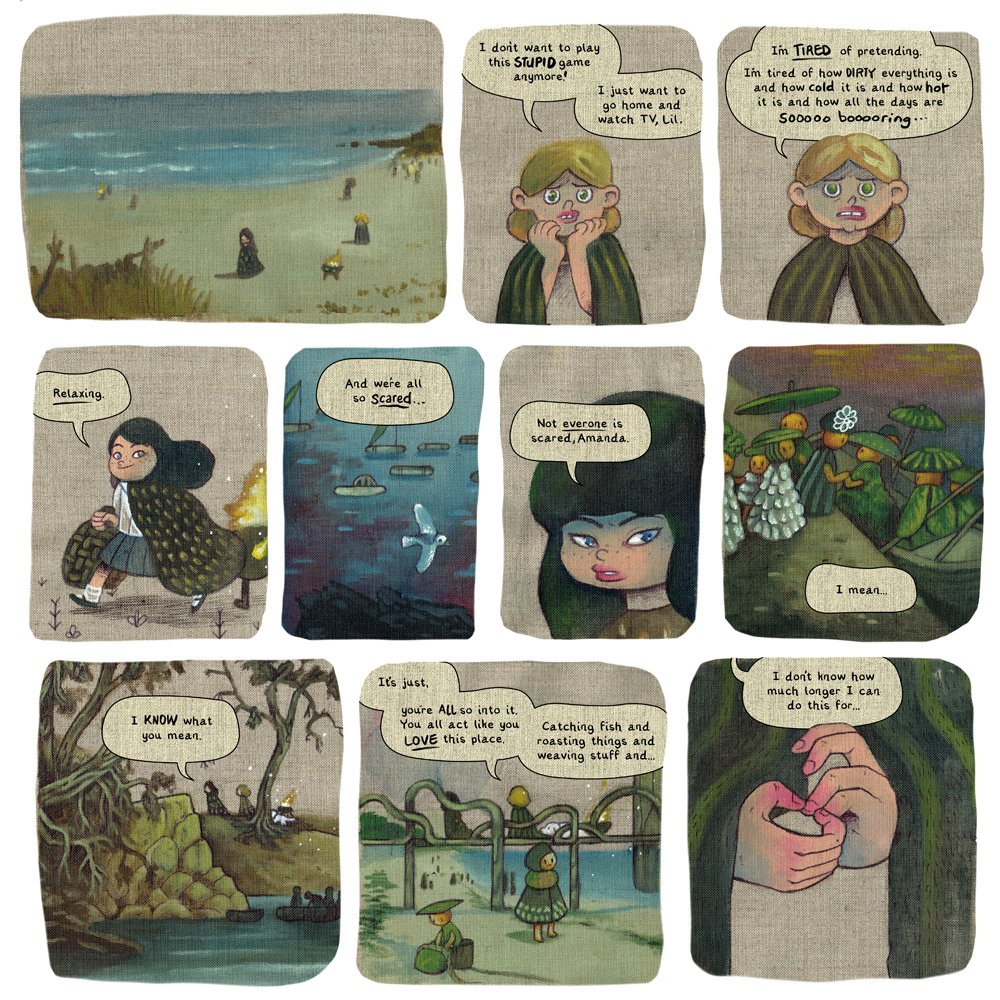 """Media Tie In Graphic Novels: Campbell Whyte On Twitter: """"HOME TIME, My First Graphic"""