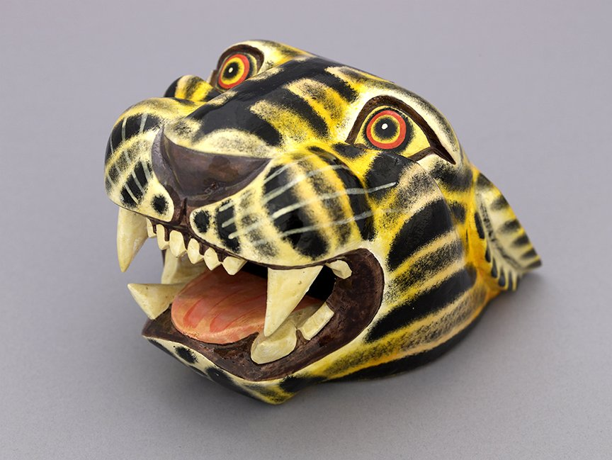 This jaguar mask from Mexico is really feline this #MewseumMonday. 😸