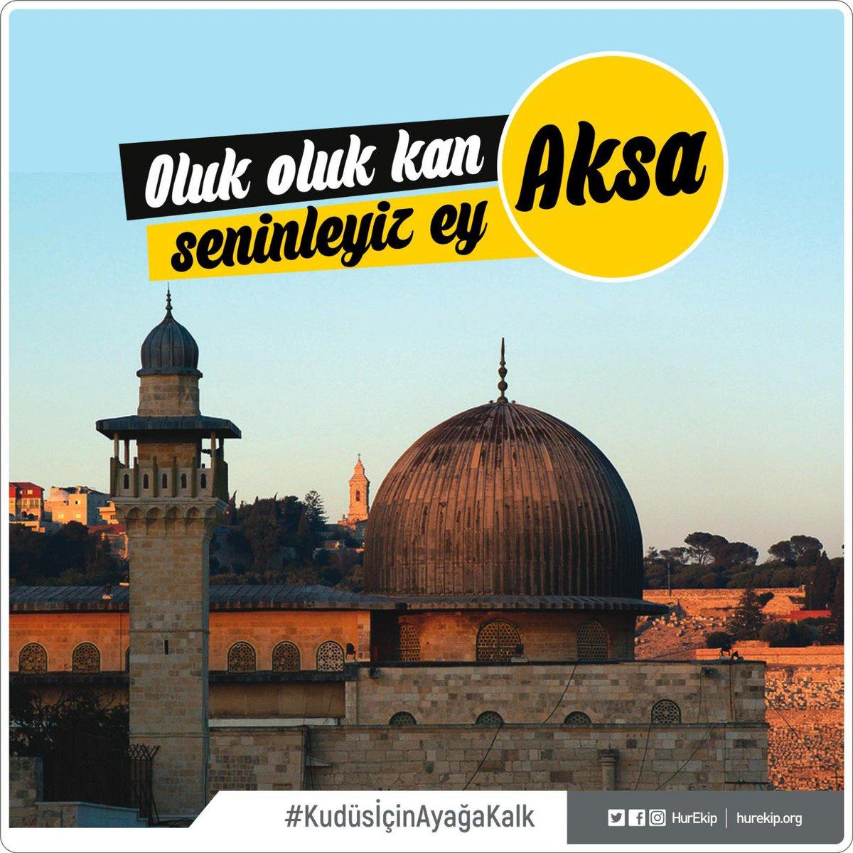 Kudüs emanettir, sahip çıkmak izzettir.    #KudüsİçinAyağaKalk https:/...
