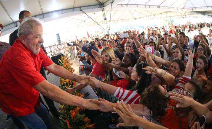 Apoyan a Lula da Silva con movilización popular en Brasil