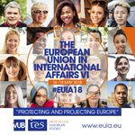 Our #EUIA18 conference on EU's role in int'l affairs will focus on 'Protecting and Projecting #Europe' SAVE THE DATE  https://t.co/7gS7RomKFd