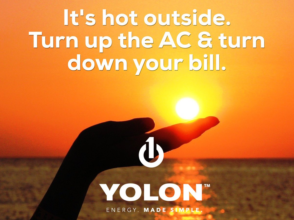 We can help lower your costs - email a bill copy to sales@yolonenergy.com today #EnergyMadeSimple #MondayMotivation